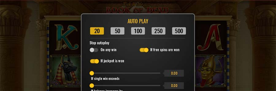 Autoplay in een online casino