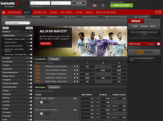 Betsafe screenshot