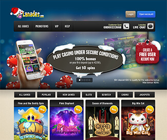Lanadas casino screenshot