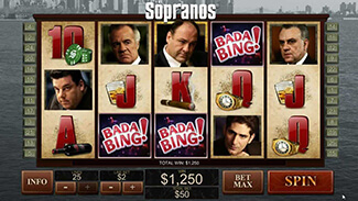 Sopranos gokkast screenshot