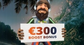 300 euro Boost bonus in Oranje Casino