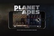 Gratis spins voor Planet of the Apes videoslot
