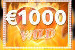 Diamonds on Fire spelen en 1000 euro extra winnen