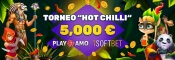 Hot Chilli toernooi in PlayAmo