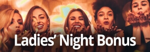Ladies Night Bonus bij Omnislots